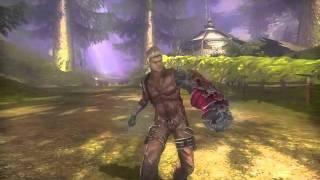 超未来アクションRPG『ディバインソウル』「ファイター」プレイムービー