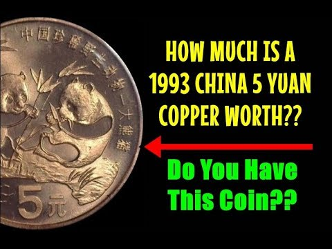How Much Is A 1993 China 5 Yuan Coin Worth? First Ever ...