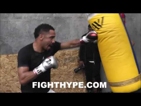 ANDRE WARD FULL 40-MINUTE WORKOUT FOR KOVALEV CLASH; RAZOR SHARP & READY TO FIGHT