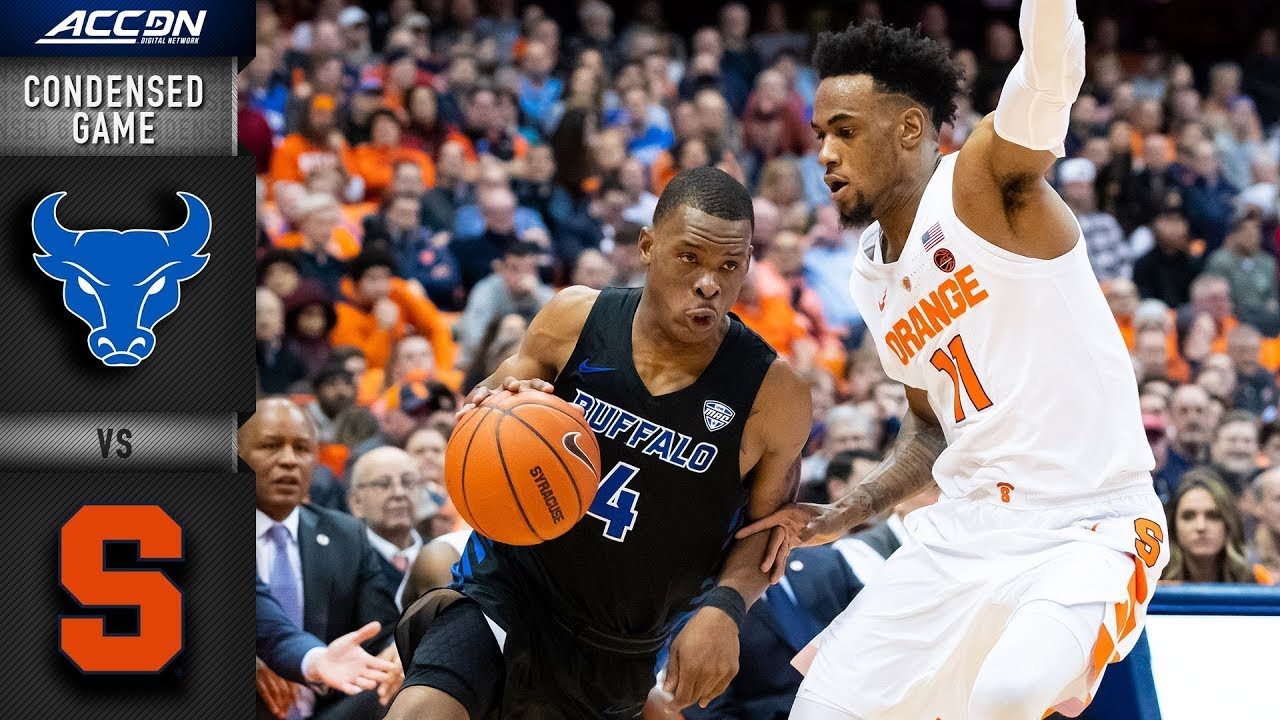 Buffalo vs  Syracuse Condensed Game   2018-19 ACC Basketball