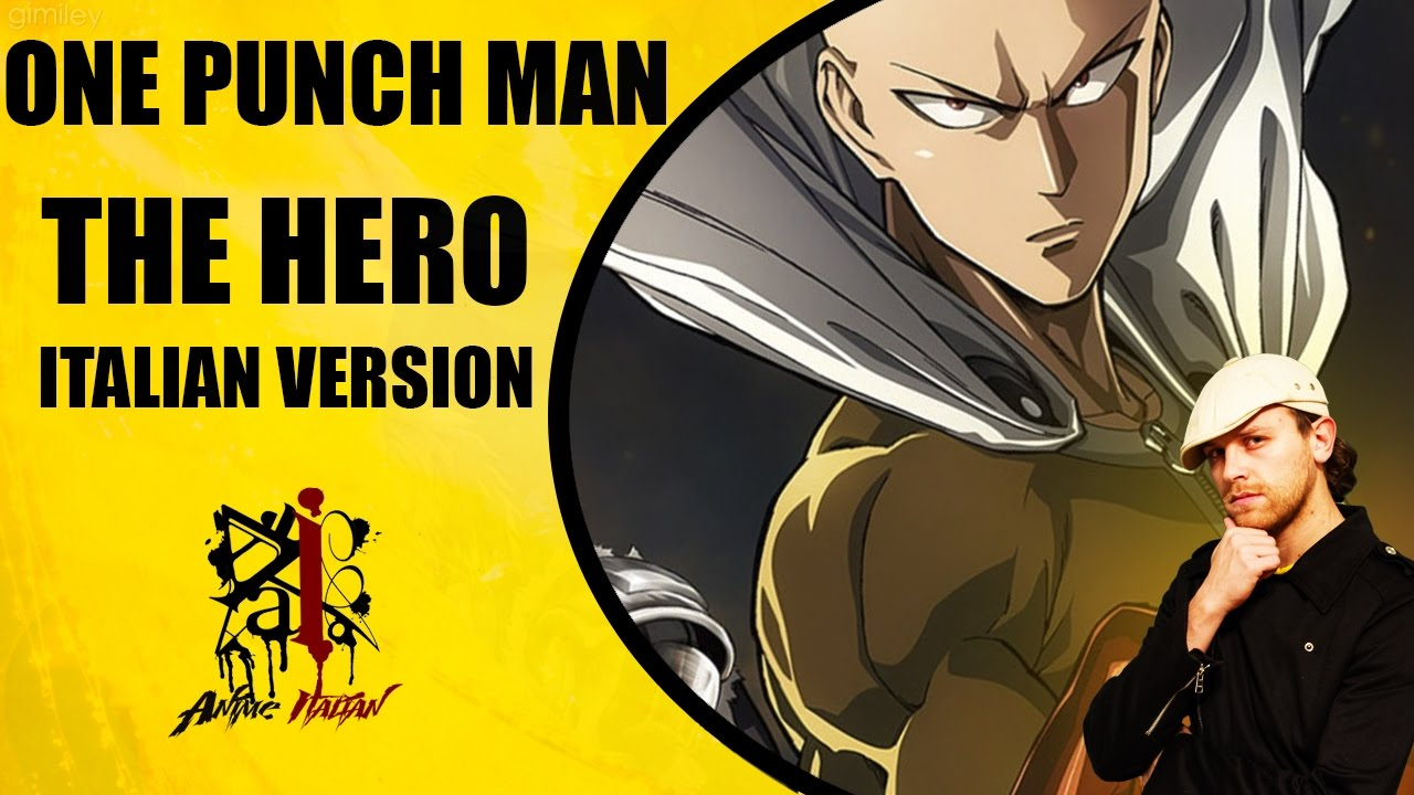 one punch man opening the hero italian version youtube. Black Bedroom Furniture Sets. Home Design Ideas