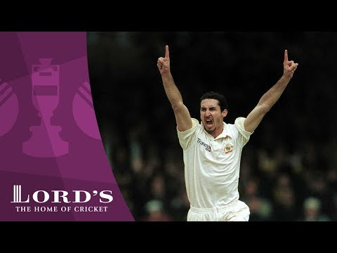 Jason Gillespie's 5-wickets at Lord's - 2001 Ashes Rewind