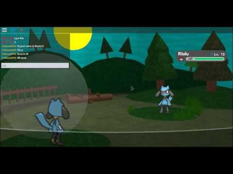 roblox pokemon brick bronze how to get riolu youtube