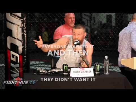 The B-Boy Waiting Game - Explained by Conor McGregor & DJ Timber