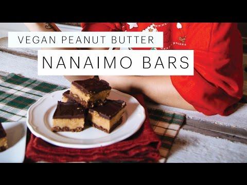 Recipe: Peanut Butter Nanaimo Bars VEGAN | Edgy Veg