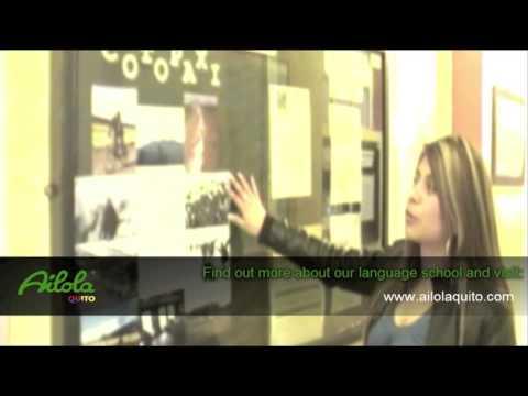 Ailola Quito Spanish School Video Tour 2015