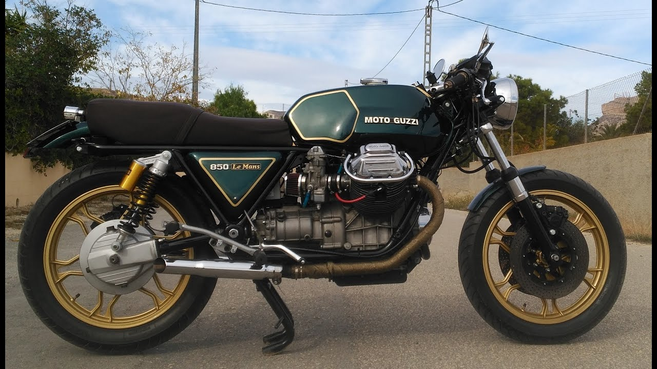 Moto Guzzi Le Mans 850 Cafe Racer Youtube