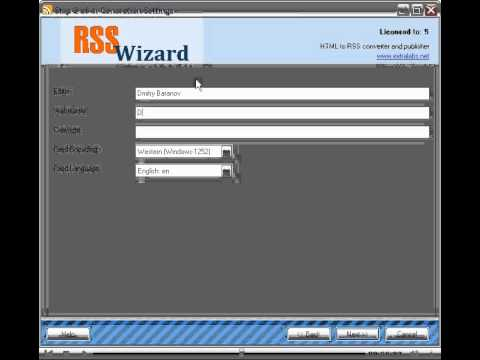 How to convert HTML to RSS, Generate RSS automatically