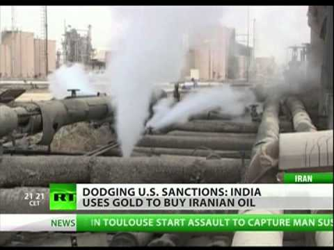 India is benefiting on Iran's oil sanctions