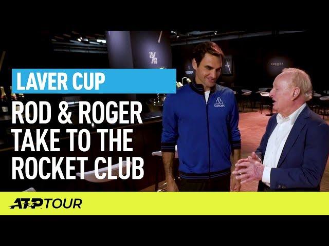Roger & Rod Tour The Rocket Club | Laver Cup | ATP