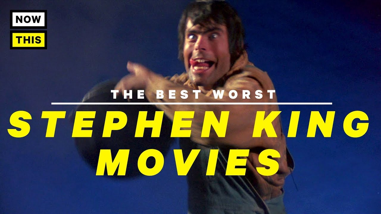 The Best Worst Stephen King Movies | NowThis Nerd - YouTube