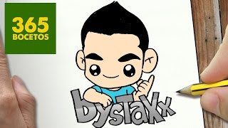 COMO DIBUJAR BYSTAXX KAWAII PASO A PASO - Dibujos kawaii faciles - How to draw a BYSTAXX