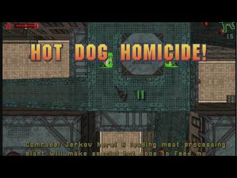 GTA 2: Industrial District - Russian Mafia Job 1 - Hot Dog Homicide! (Walkthrough)