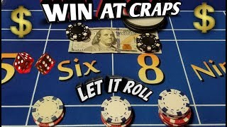 WIN at Craps with the most common numbers! THE 6 and 8 progression - Craps Strategy