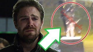 Arrows FINAL Scene Teaser Flash Cameo and More - Arrow Season 8