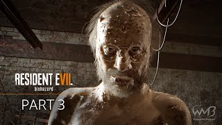 Resident Evil 7 - Jack Baker Boss Fight (Chainsaw) - Walkthrough Part 3 (Madhouse Difficulty)