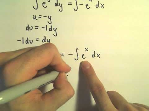 Separable Differential Equation, Example 2