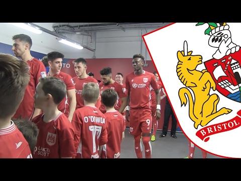 Tunnel Cam: Bristol City v Sheffield Wednesday