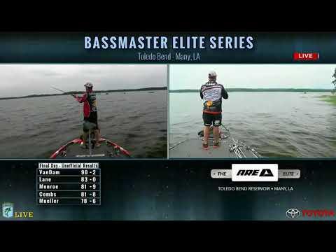 Bassmaster Live: 2016 Toledo Bend Championship Sunday, Part 3
