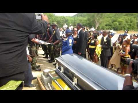 Virgin Islands Police Officer Colvin Georges Gravesite  Part 1