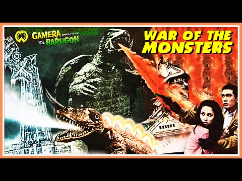 Random Movie Pick - Gamera Vs Barugon (1966) Japanese Trailer - Color / 2:37 mins YouTube Trailer