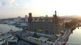 Haydarpaşa Garı Drone Hava Çekimi / Yürüyen Kamera