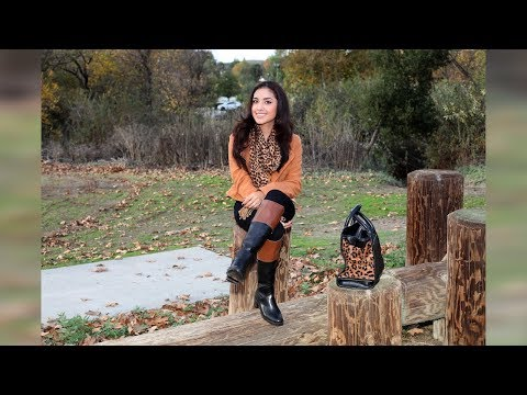 Leather boots fetish and smoking.Goddess Hiliana.Trailer from YouTube · Duration:  26 seconds