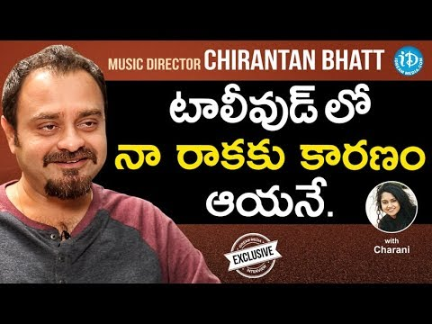 Music Director Chirantan Bhatt Exclusive Interview | #JaiSimha | Talking Movies With iDream #623