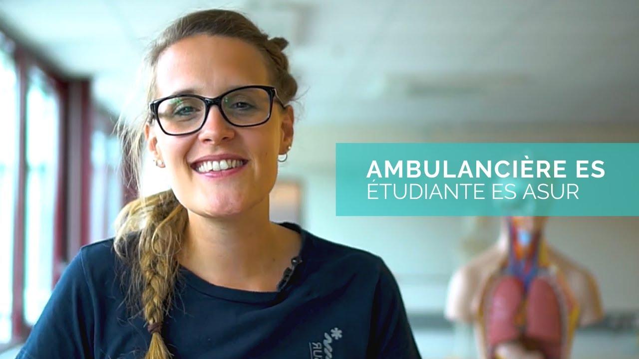 Laetitia - Ambulancière ES (en formation)