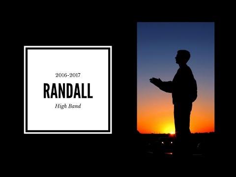 Randall High School Band Banquet Video 2017