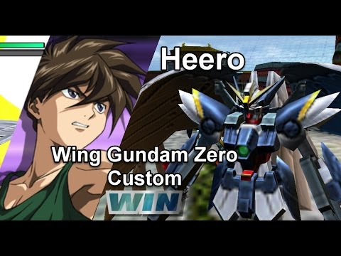 Gundam Vs. Gundam NEXT PLUS: Wing Gundam Zero Custom - Arcade Mission J