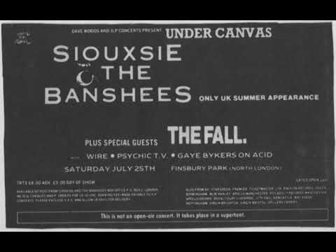 The Fall Live - Finsbury Park  25th July 1987