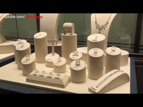 Jewelry Design display | Hong Kong China | Necklaces, Earrings, Bracelets, Rings, Pendants