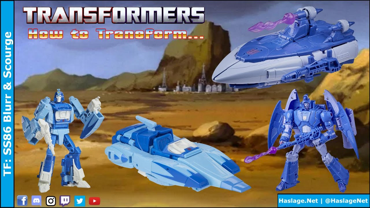 Transformers: Studio Series 86 Blurr & Scourge Reviews