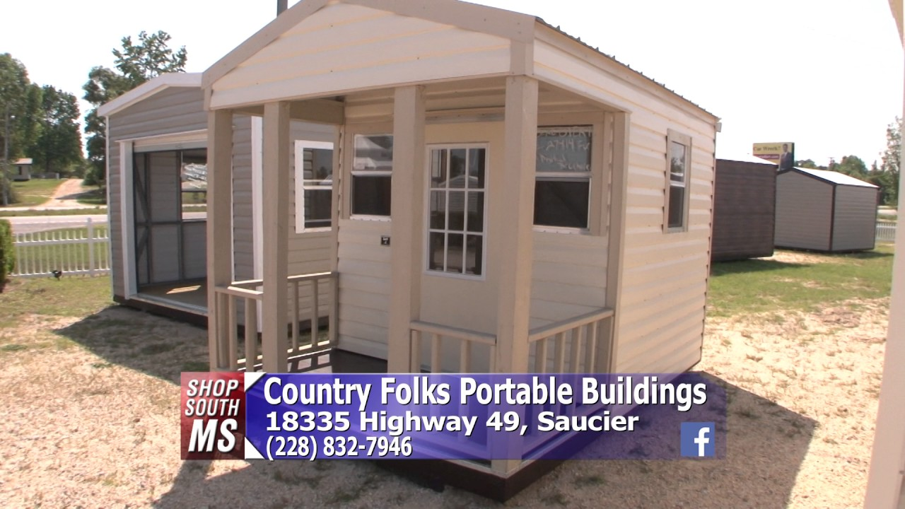 Shop South Mississippi   Country Folks Portable Buildings   Rent To Own