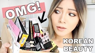 omg she sent me so much korean beauty swap with meejmuse