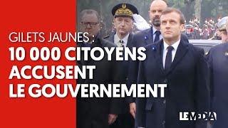 GILETS JAUNES : 10.000 CITOYENS ACCUSENT LE GOUVERNEMENT DANS UNE PÉTITION