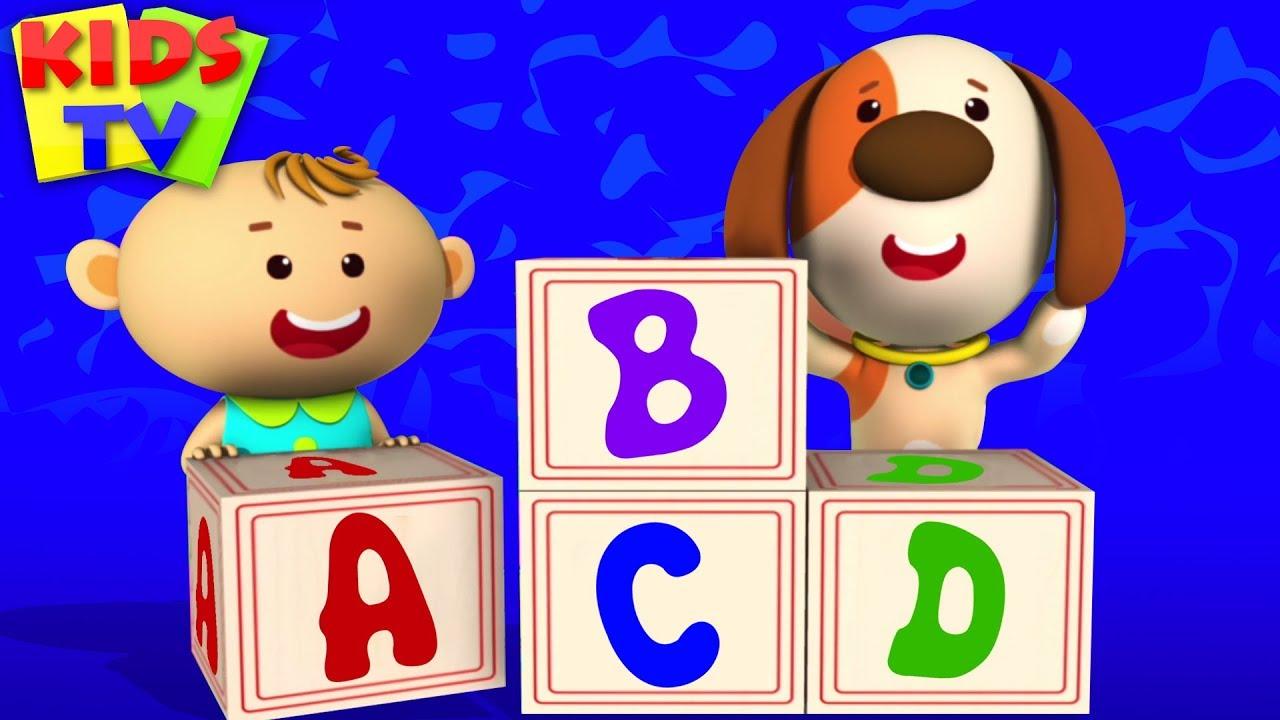 ABC Song   Little Eddie Cartoon   Nursery Rhymes & Baby Songs For Children