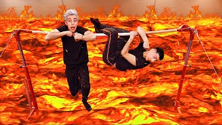 EXTREME THE FLOOR IS LAVA CHALLENGE Part 5