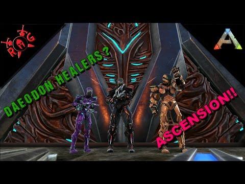 ARK: VOLCANO TEK CAVE! ASCENSION! [⚔️ Insanely Hard] 5 more levels!