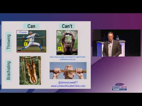IFOMPT 2016: Plenary Keynote - Jeremy Lewis