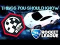 20 Things You Should Know About Rocket League...
