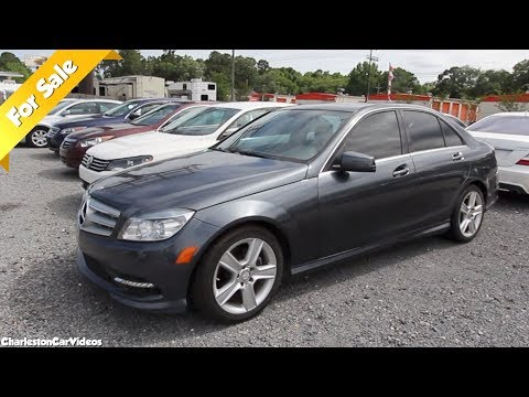 Here's a 2011 Mercedes Benz C300 Sedan | For Sale Review - CharlestonCarVideos