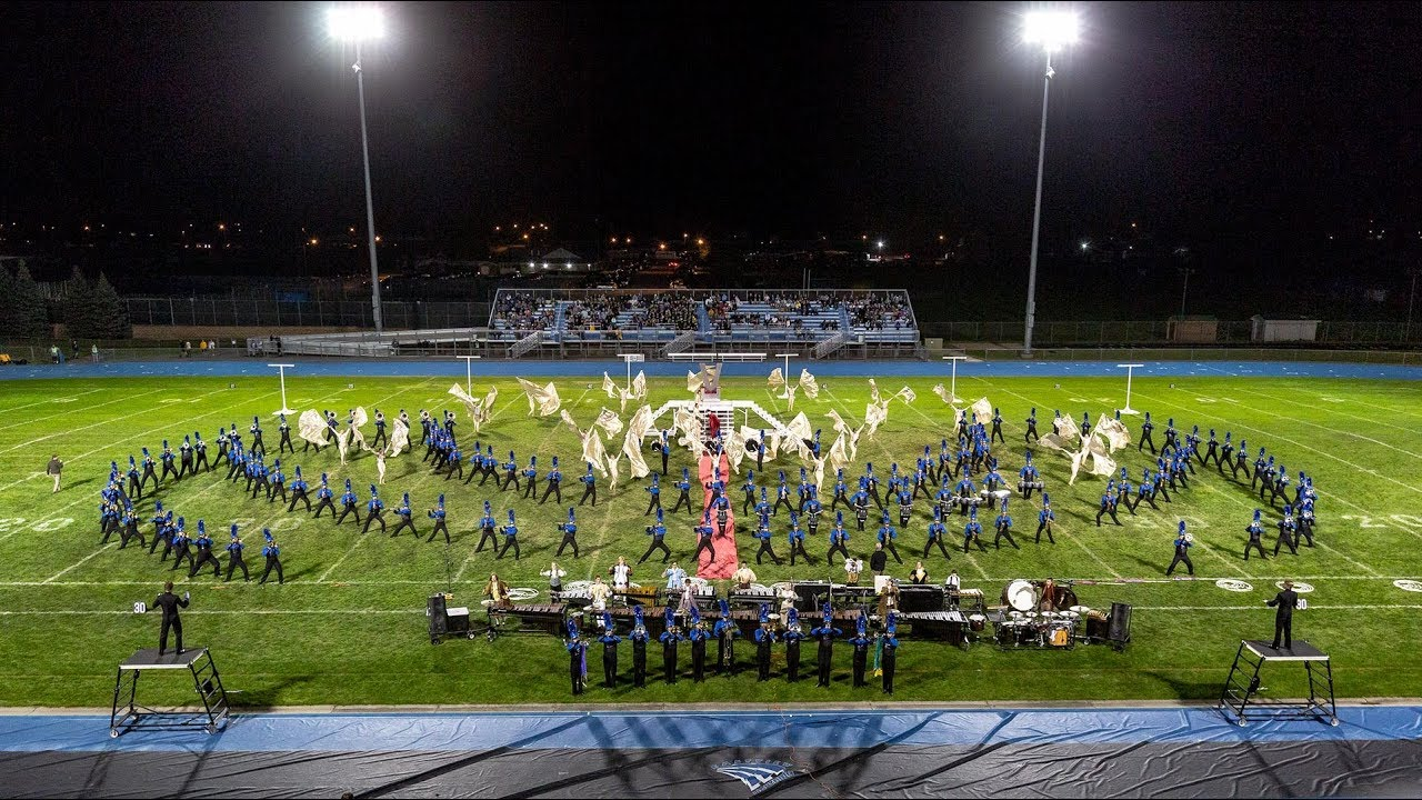 EVMB 2018 Marching Band Festival Performance