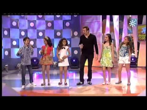 Maria Parrado,David Parejo,Rocio Doña,Carmen,Claudia y Alex-Mi Musica es tu voz