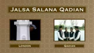 Nazms (Poems) from Jalsa Salana Qadian 2009 - Part 3/7