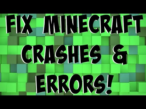 How To Fix Minecraft Crashes Errors In