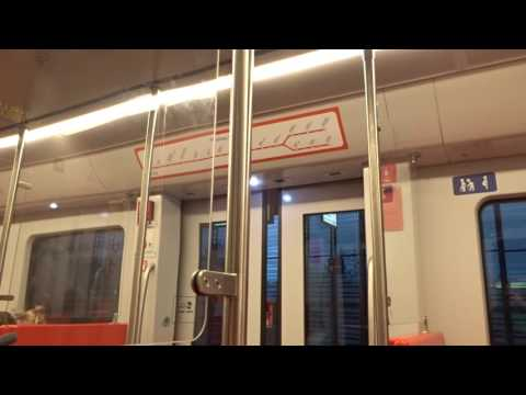 Video from 07.October 2016: CAF M300 Metro Train from Vuosaari to Ruoholahti, Helsinki, Finland