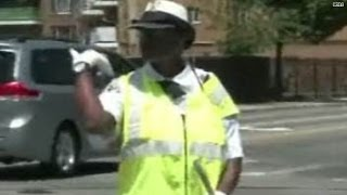 Watch: Crossing guard knows how to boogie!