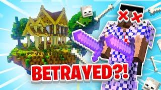 I WAS BETRAYED?! - Minecraft SKYBLOCK #18
